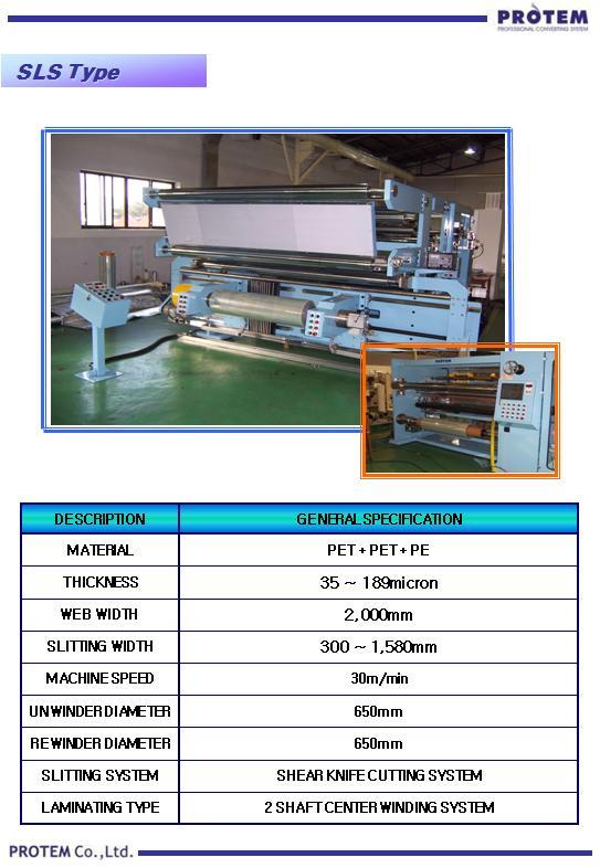 PROTEM Roll Pressure Type SLS
